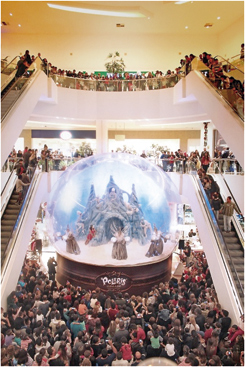 Shopping Palladium e o Natal