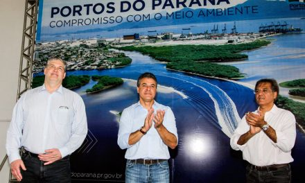 Richa inaugura no Porto de Paranaguá base integrada para emergências ambientais