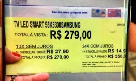 Caso da TV de R$ 279,00 repercute no exterior